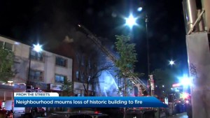 3-alarm fire breaks out in Toronto's Junction